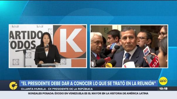 Ollanta Humala en el Congreso.