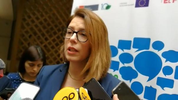 Laura Secada, funcionaria del Ministerio del Ambiente.