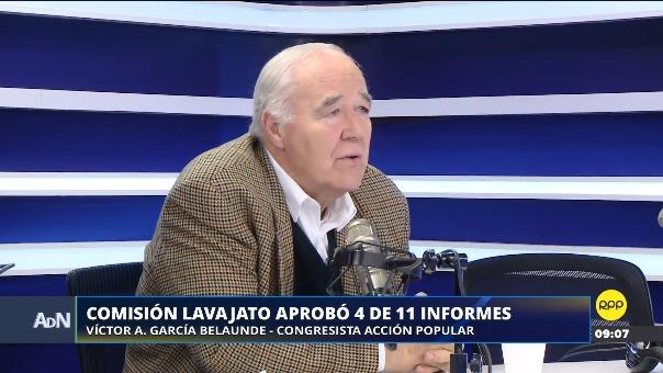 Comisión Lava Jato aprobó 4 de 11 de informes.
