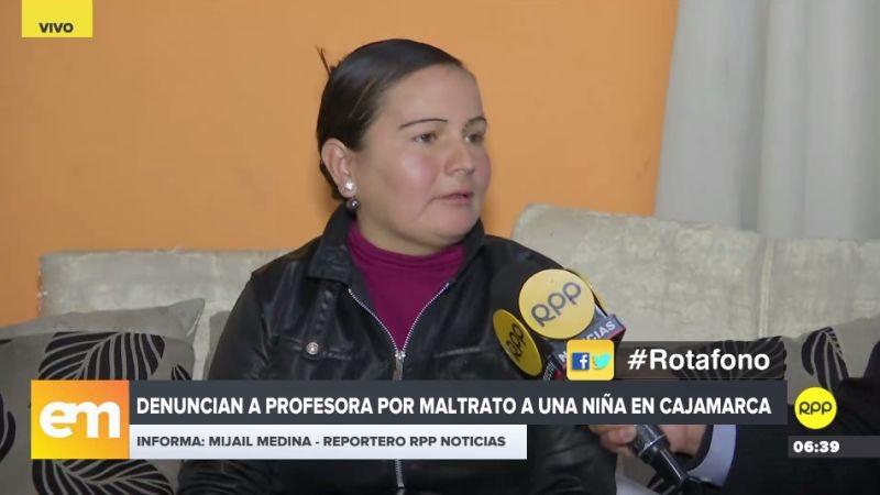 La mujer aseguró que la profesora denunciada se ufana de tener influencias en el Poder Judicial.