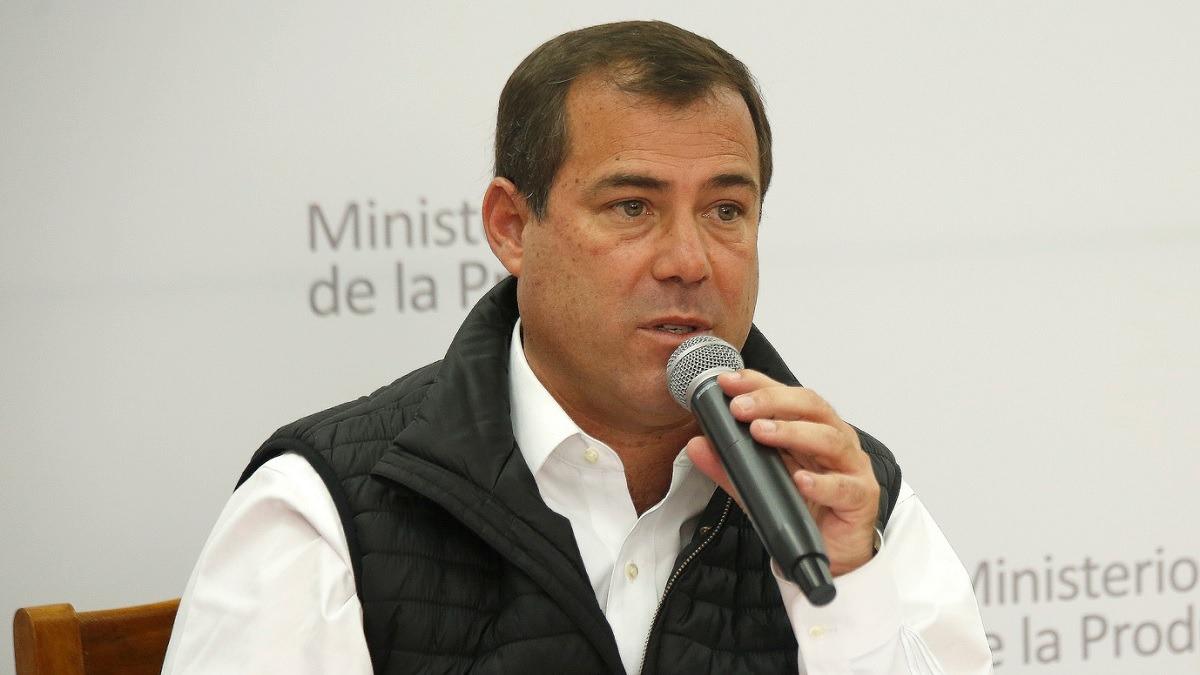 Bruno Giuffra, exministro de la Producción, en entrevista con RPP Noticias.