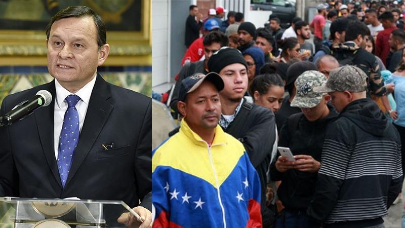 Venezolanos en Perú solicitan refugio.