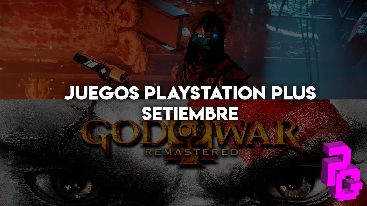 Destiny 2 y God of War 3 Remastered podrán ser tuyos si posees una membresía PS Plus.