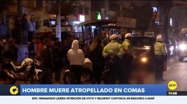 Alfonso Ticona Mamani fue atropellado cuando se dirigía a su casa tras un día de trabajo.