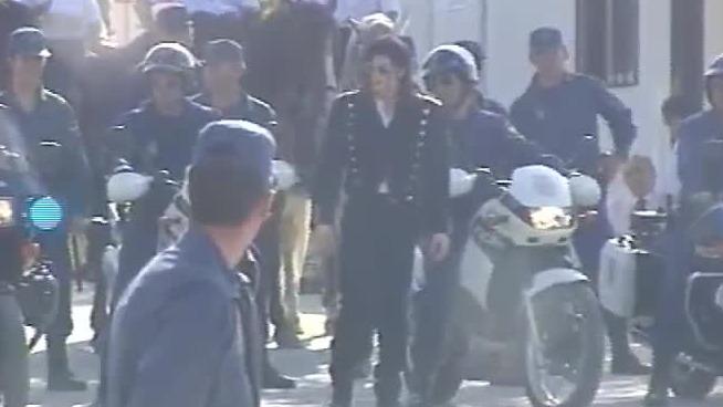 La inédita escena de la grabación de un video institucional con Michael Jackson.