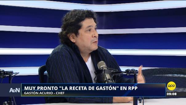 Gastón Acurio anunció su nuevo espacio radial en RPP la mañana de este miércoles en Ampliación de Noticias.