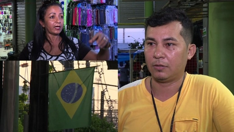 """Brasileños """"miran"""" a la derecha ante migración venezolana."""