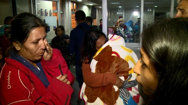 Así fue la dramática travesía de tres días  y a través de tres países de una familia venezolana para llegar al Perú.