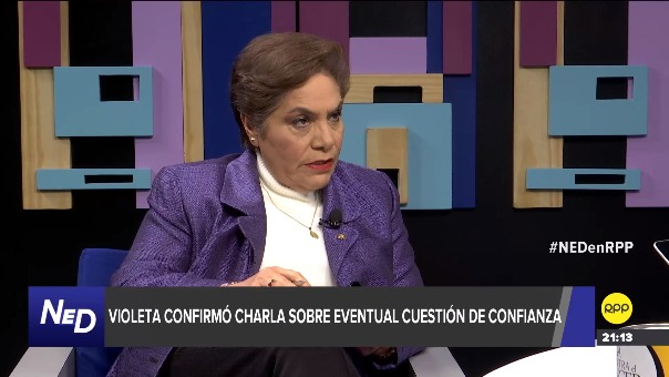 Luz Salgado se pronunció sobre una posible cuestión de confianza en Nada Está Dicho.