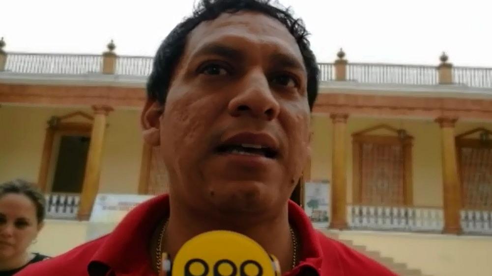 El presidente de la ANGR, Luis Valdez, dijo sentir asco de la coyuntura política actual.