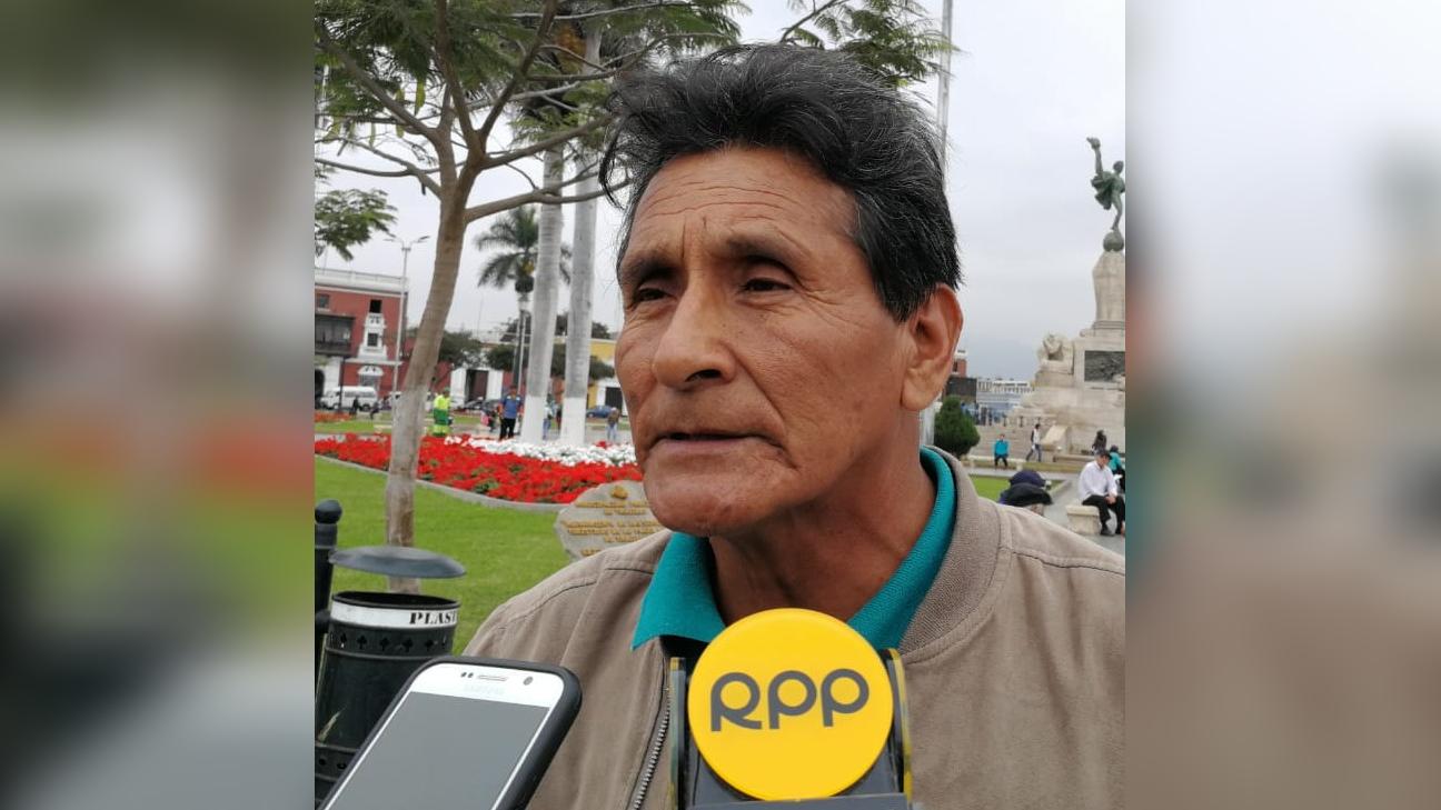 Jorge Alva Moya, presidente de la junta de usuarios del valle Chicama.