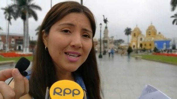 Liseth Ruíz, regidora de Trujillo.