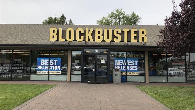 Blockbuster tiene su último registro testimonial en el centro de Oregón, en el noroeste del país.