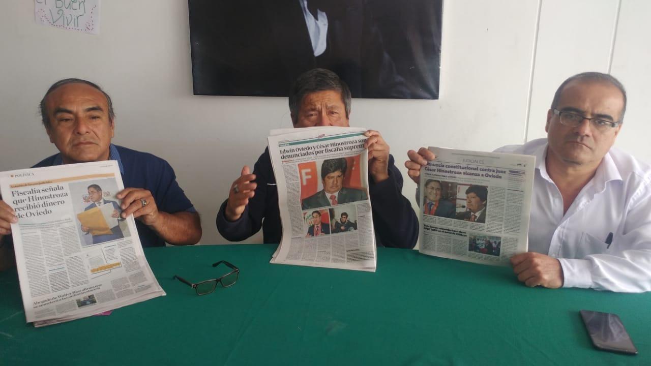 Pedido será presentado ante el Primer Juzgado Civil de Chiclayo.