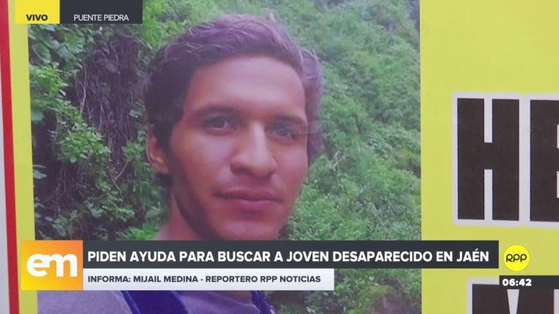 Los familiares están desesperados y piden a las autoridades reiniciar la búsqueda del joven desaparecido.