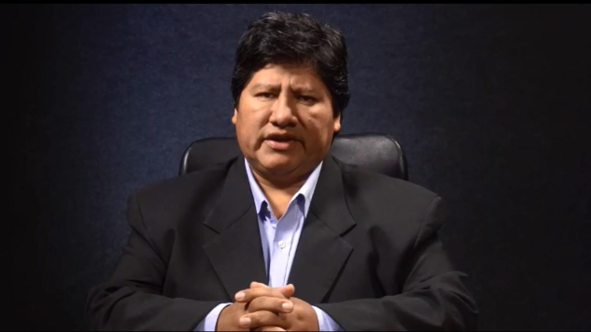 Edwin Oviedo negó haberse beneficiado de alguna sentencia judicial hecha por el suspendido juez César Hinostroza.