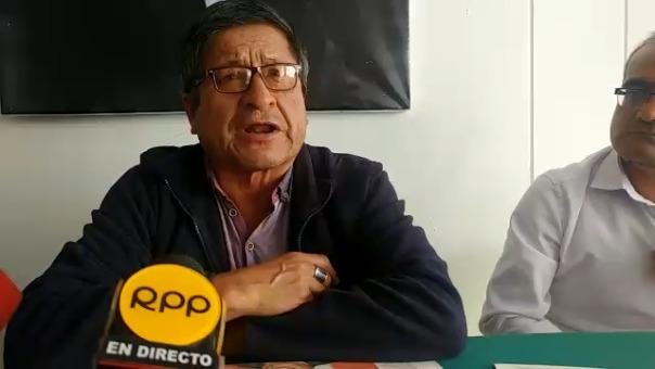 Dirigente Leoncio Egusquiza.