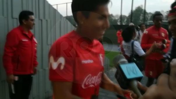 Raúl Ruidíaz descartó que su lesión sea de gravedad.