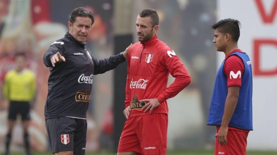 Horacio Calcaterra fue llamado por primera vez a la Selección Peruana.