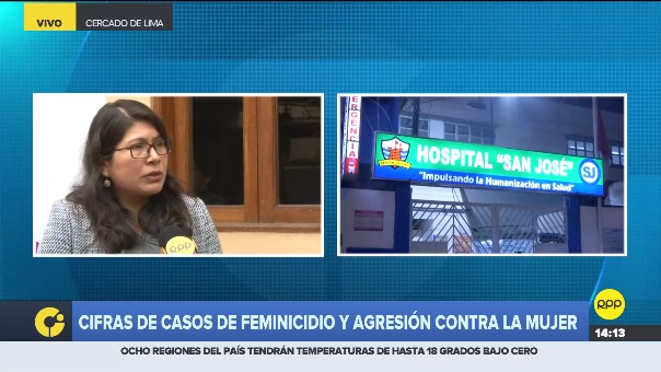 Clea Guerra en RPP.
