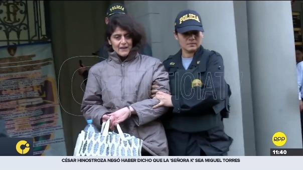 Defensoría del Pueblo atiende caso de pareja detenida por presunto delito de trata de personas.