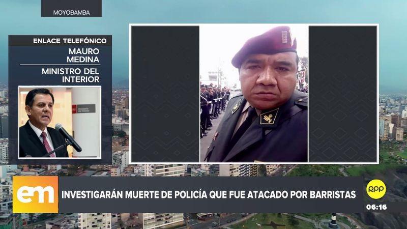 Mauro Medina explicó que hay dos líneas de investigación en la muerte del comandante Edwin Jiménez Navarro.