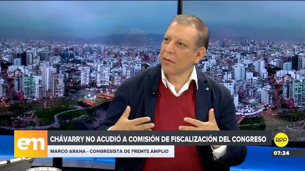 Marco Arana señaló que el presidente puede apostar por la cuestión de confianza.
