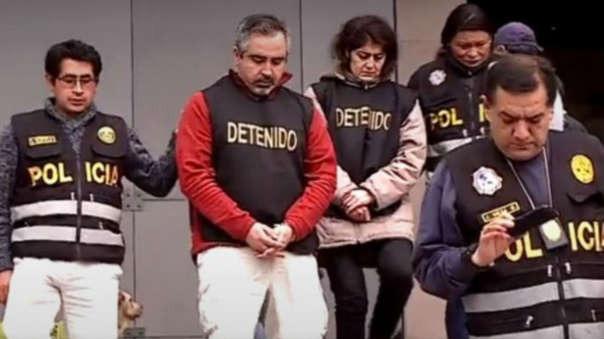 Los esposos chilenos fueron encarcelados en las prisiones de Ancón II y Sarita Colonia del Callao de manera preventiva