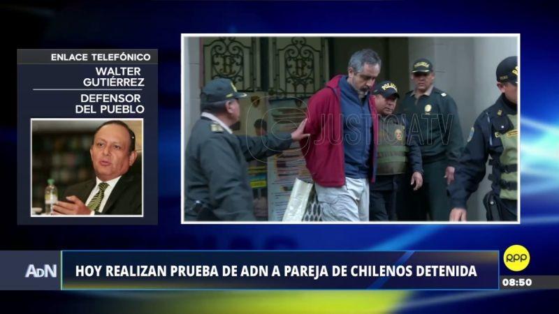 El defensor del Pueblo, Walter Gutiérrez, estuvo esta mañana en Ampliación de Noticias.