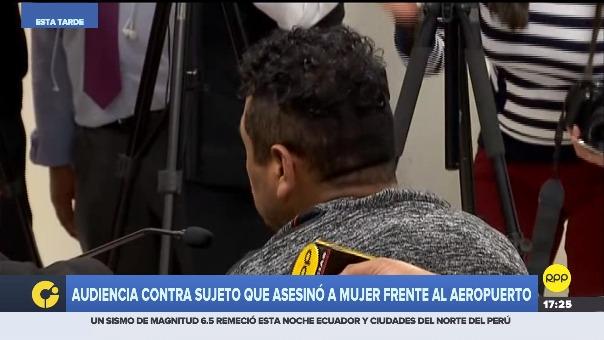 Víctor Soto Mija pidió perdón durante la audiencia de prisión preventiva.
