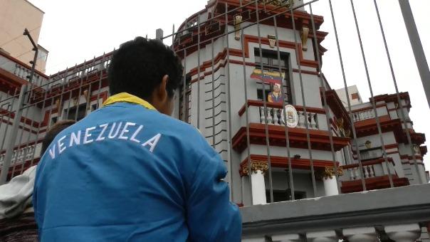 La embajada de Venezuela en Perú puso en marcha el Plan Vuelta a la Patria.