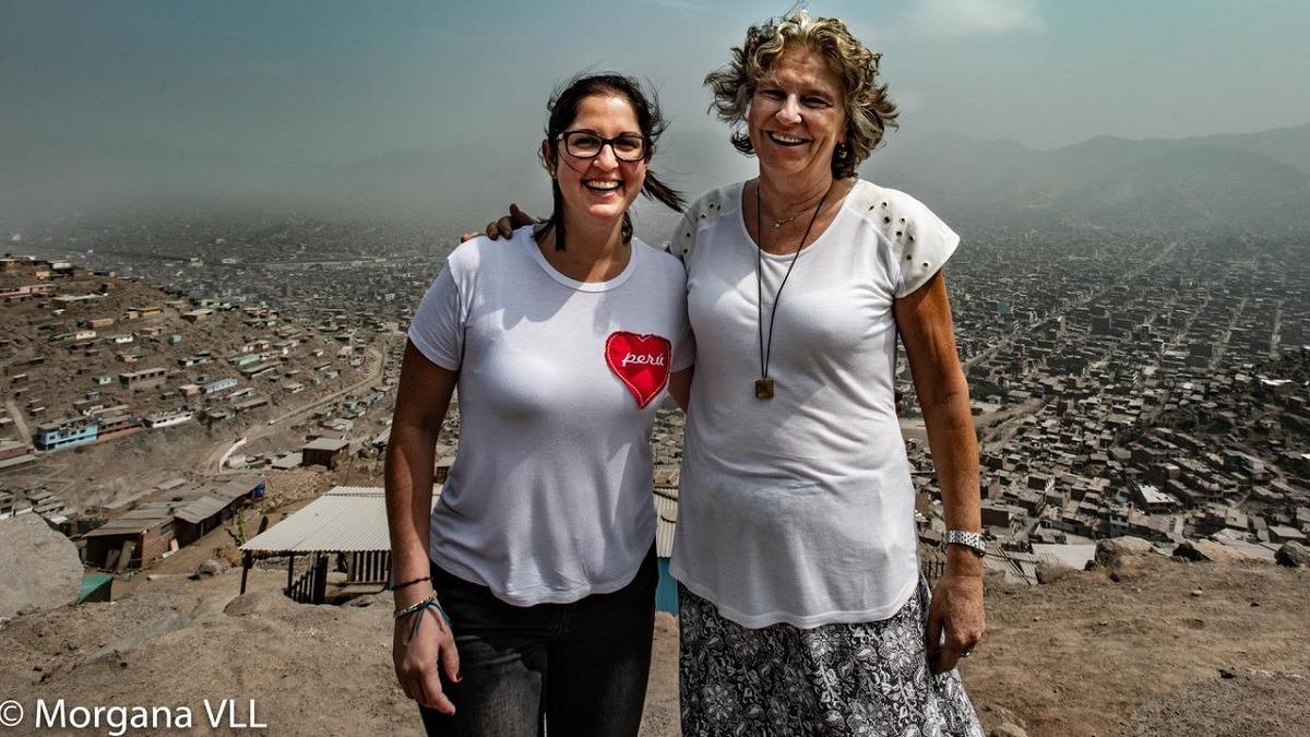 Christiane llegó al Perú para hacer un voluntariado cuando tenía 21 años y decidió construir, en principio, una guardería.