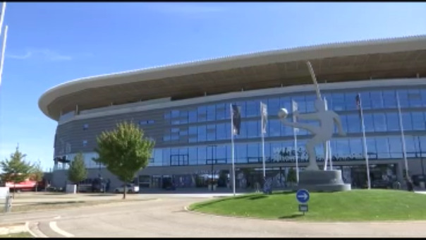 EDl Estadio Rhein-Neckar Arena lucirá completamente lleno este domingo.