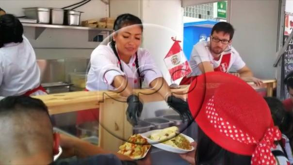 La comida peruana presente en Alemania.