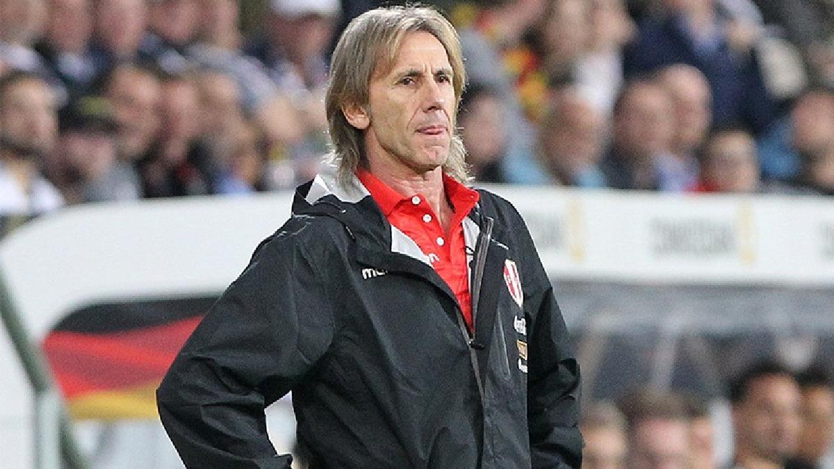 Ricardo Gareca, entrenador de la Selección Peruana, habló luego de la derrota con Alemania.