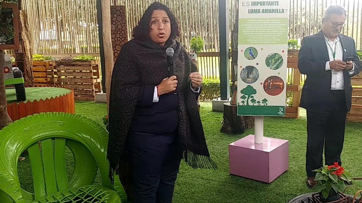 Ministra del Ambiente.