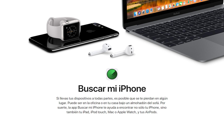 Buscar mi iPhone es una medida que Apple integra hace años