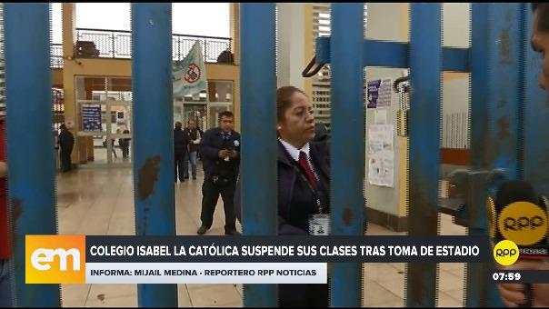 Suspenden clases tras toma del estadio Matute.