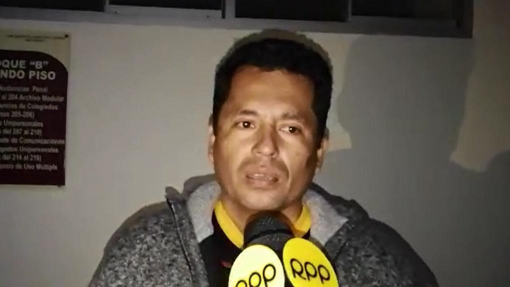 Familiares del condenado David Tandaypán insistieron en la inocencia de su pariente.