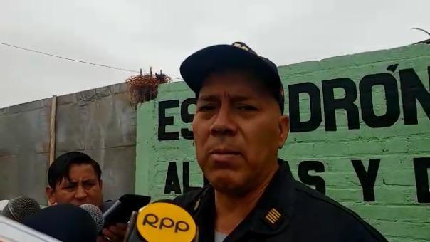 Comandante Alfredo Morante Sosa.