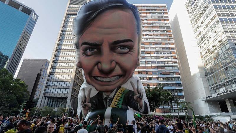 Jair Bolsonaro lidera los sondeos de opinión de cara a las elecciones presidenciales del próximo 7 de octubre.