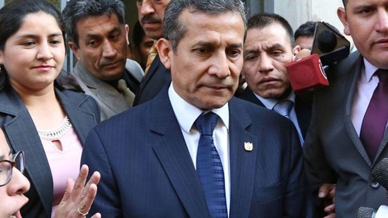 """El fujimorista Héctor Becerril aseguró que """"no ha habido persecución política"""" contra Ollanta Humala."""