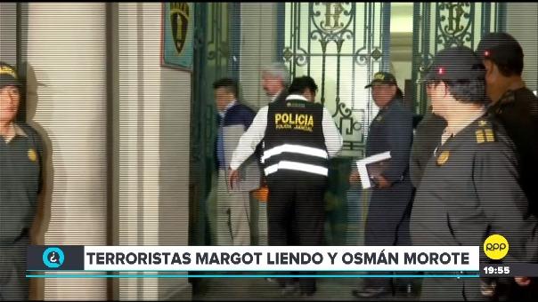 Osman Morote y Margot Liendo cumplían arresto domiciliario desde abril de 2018.
