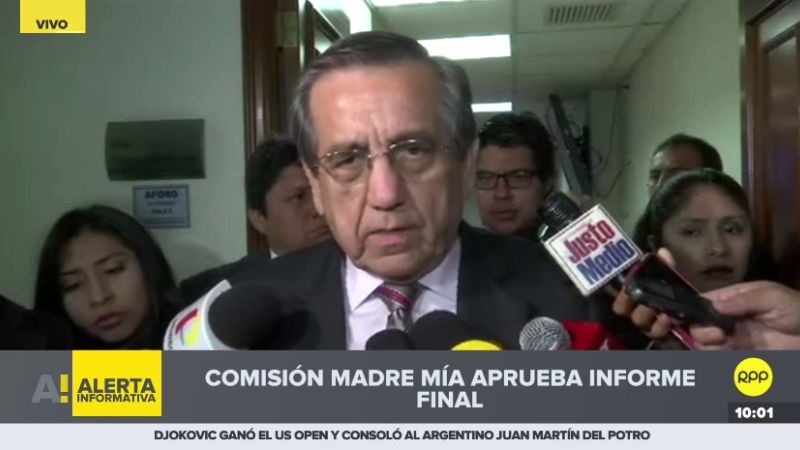 Jorge del Castillo se expresó duramente contra el expresidente Ollanta Humala.