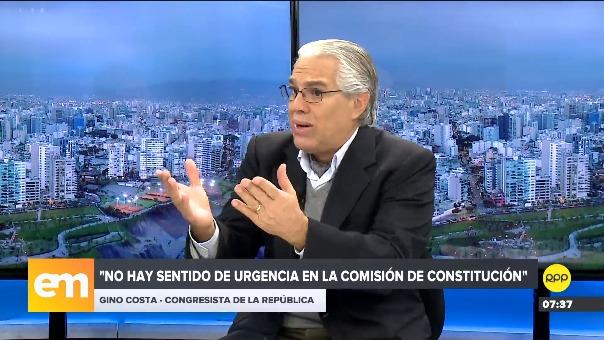 Gino Costa en Edición Mañana.