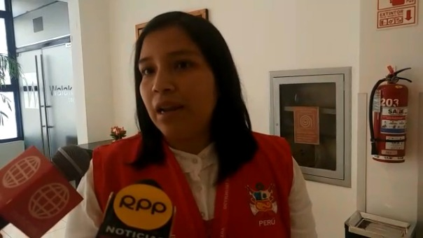 Responsable del Voto Informado, Diana Contreras.
