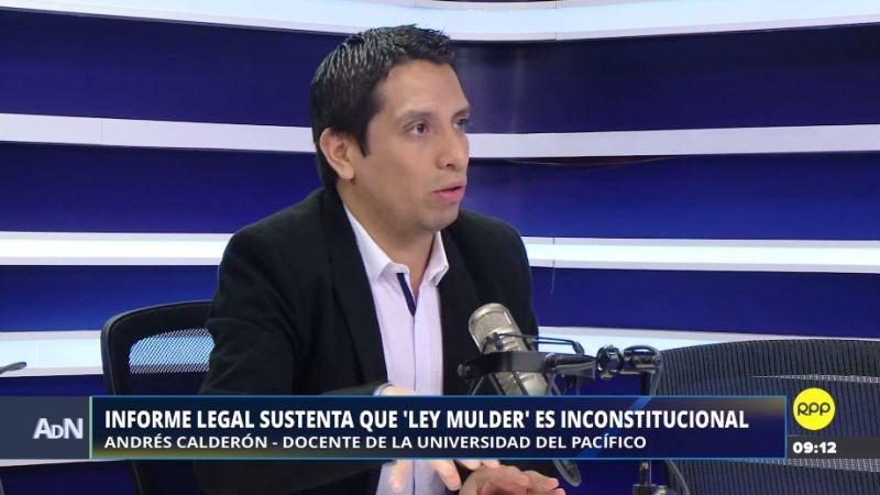 La Clínica Jurídica de la Universidad del Pacífico analizó los debates de la llamada 'Ley Mulder'.