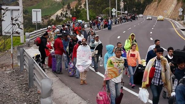 Actualmente 3 millones de venezolanos han huido de su país.