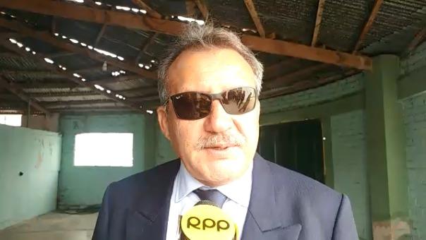 Folger Collazos, indicó que la comuna viene dando cumplimiento al mandato judicial