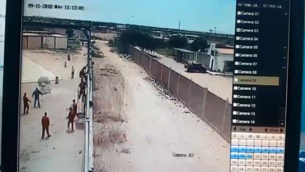 Segunda fuga en Escuelín.